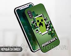 Силиконовый чехол Майнкрафт (Minecraft) для Samsung G965 Galaxy S9 Plus , фото 3