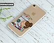 Силиконовый чехол Девочка с кофе (Girl with coffee) для Xiaomi Mi A1 , фото 5