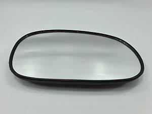 Дзеркало наружнє (скло) праве в корпусі 8 кріплень LANOS grog Корея