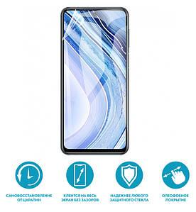 Гидрогелевая пленка для BQ 5518g Глянцевая противоударная на экран телефона | Полиуретановая пленка