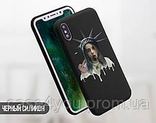 Силиконовый чехол Ренессанс Билли Айлиш (Billie Eilish) для Huawei Y6p , фото 3