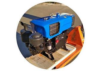 Двигун ZH1100 - Zubr (15 л. с) з електростартером