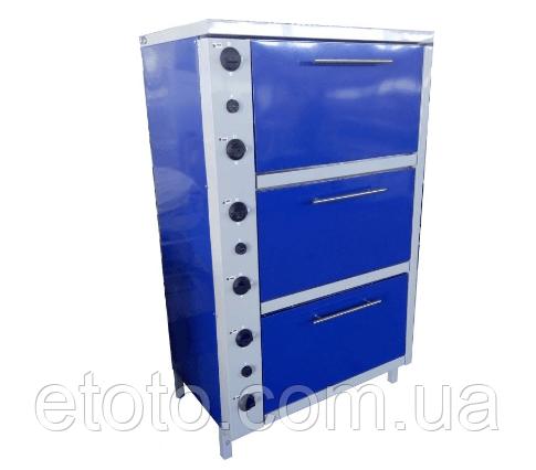 Шкаф жарочный электрический трехсекционный с плавной регулировкой мощности ШЖЭ-3-GN1/1 стандарт