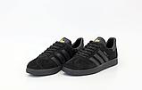 Кросівки Adidas Gazelle жіночі чорні, фото 2