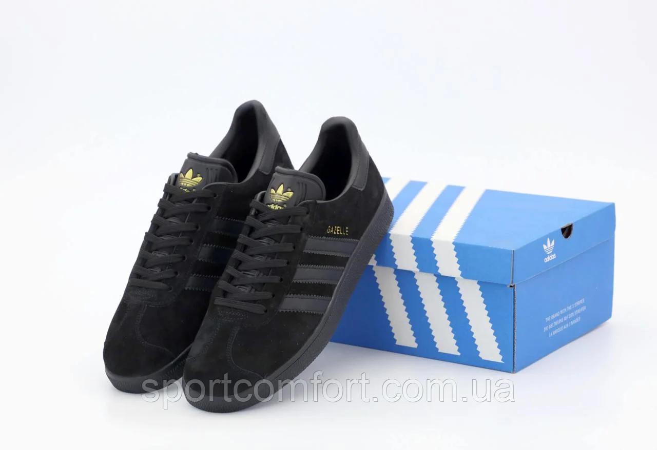 Кросівки Adidas Gazelle жіночі чорні