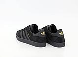 Кросівки Adidas Gazelle жіночі чорні, фото 3