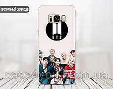 Силиконовый чехол БТС (BTS) для Samsung A115 Galaxy A11 , фото 2