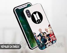 Силиконовый чехол БТС (BTS) для Samsung A115 Galaxy A11 , фото 3