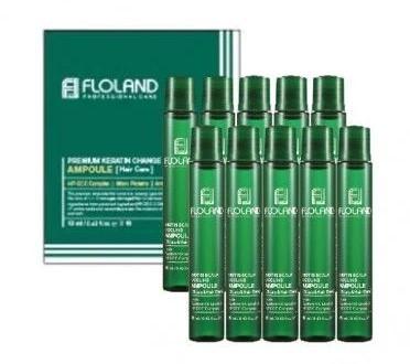 Філлери для волосся з біотином Floland Biotin Scalp Cooling Ampoule Коробка 10х13 мл