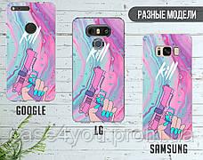 Силиконовый чехол Убийвство Диджитал Арт (Kill Digital art) для Samsung A305 Galaxy A30 , фото 3