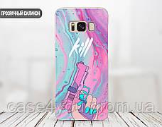 Силиконовый чехол Убийвство Диджитал Арт (Kill Digital art) для Samsung A305 Galaxy A30 , фото 2