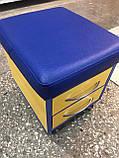 Пуф майстра педикюру з ящиками, фото 4