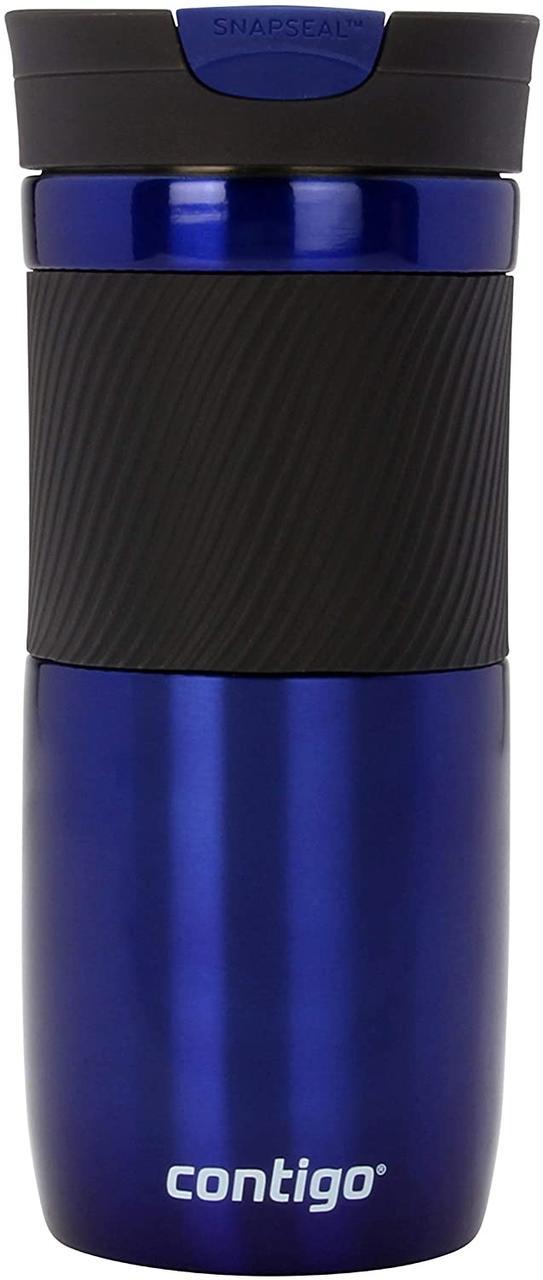 Термокружка Contigo Byron SnapSeal синяя 470 мл
