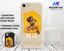 Силиконовый чехол Билли Айлиш (Billie Eilish) для Xiaomi Mi Note 3