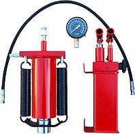 Гидроцилиндр для преса на 50т (Гидравлический насос + цилиндр + манометр + шланг), фото 1