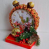 """Оригинальный новогодний подарок """"Часы из конфет"""""""
