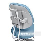 Комплект растущая парта Cubby Fressia Blue+эргономичное кресло FunDesk Pratico Blue, фото 3