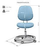 Комплект растущая парта Cubby Fressia Blue+эргономичное кресло FunDesk Pratico Blue, фото 9
