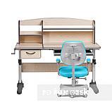 Комплект растущая парта Cubby Ammi Grey + oртопедическое кресло FunDesk Delizia Mint, фото 3