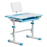 Комплект зростаюча парта Cubby Fressia Blue + дитяче ергономічне крісло FunDesk Cielo Blue, фото 4