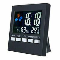 Цифровий термометр, гігрометр 2159T з підсвічуванням, годинником, будильником і календарем