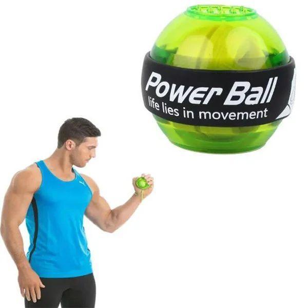 Гіроскопічний тренажер для кистей рук Power Ball кистьовий еспандер