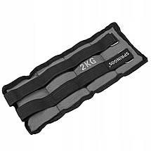 Утяжелители-манжеты для ног и рук Springos 2 x 2 кг FA0006, фото 3