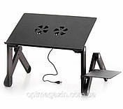 Стіл для ноутбук T8. Стіл-підставка під ноутбук Laptop Table T8, фото 3
