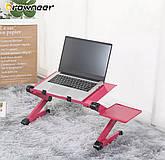 Стіл для ноутбук T8. Стіл-підставка під ноутбук Laptop Table T8, фото 2
