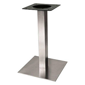 Опора для стола Нил нержавеющая сталь