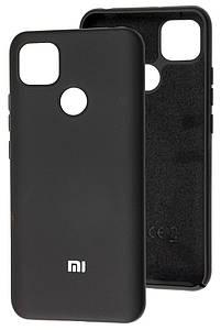 Чехол Оригинал Silicone Case Xiaomi Redmi 9C (черный)