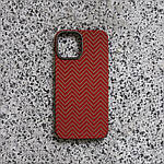 Чохол для iPhone 12 Pro Max K-DOO Kevlar M Pattern червоний, фото 3