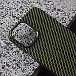 Чохол для iPhone 12/12 Pro K-DOO Kevlar зелений, фото 3