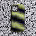 Чохол для iPhone 12/12 Pro K-DOO Kevlar зелений, фото 4