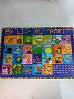 Подложка пластиковая Английский алфавит English alphabet 491467 1 Вересня