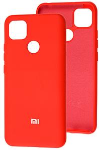 Чехол Оригинал Silicone Case Xiaomi Redmi 9C (красный)