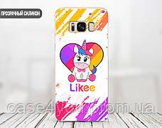 Силиконовый чехол Единорог Лайк (Unicorn Likee) для Apple Iphone 12_12 Pro , фото 2
