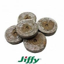 Торф'яні таблетки Jiffy оригінал 10 шт діаметр 41 мм