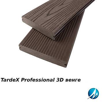 Террасная доска TARDEX PROFESSIONAL 3D венге