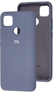 Чехол Оригинал Silicone Case Xiaomi Redmi 9C (серый)