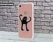 Силиконовый чехол Мем Черный кот ЪУЪ Съука для Apple Iphone 12_12 Pro , фото 4
