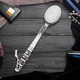 Массажная щетка на длинной ручке из синтетических материалов TITANIA арт.9115, фото 7