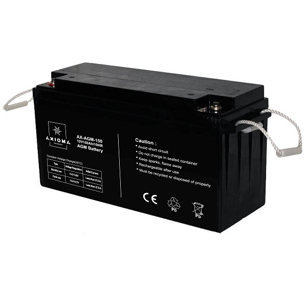 Аккумулятор мультигелевый AGM 150АЧ 12В Axioma Energy AX-AGM-150