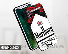 Силиконовый чехол Сигареты Мальборо (Marlboro) для Samsung G770 Galaxy S10 Lite , фото 3