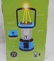 Фонарь туристический CL - 8803T, кемпинговый фонарь на солнечной батарее,