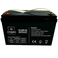 Акумулятор мультигелевий AGM 100Ач 12В Axioma Energy AX-AGM-100