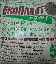Экоплант Гумі добриво(зола соняшника+гумати) 5, 20 кг