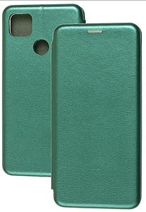Чехол-книжка Оригинал Xiaomi Redmi 9C (зеленый)