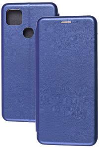 Чехол-книжка Оригинал Xiaomi Redmi 9C (синий)