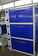 Шкаф жарочный электрический трехсекционный ШЖЭ-3-GN1/1 стандарт
